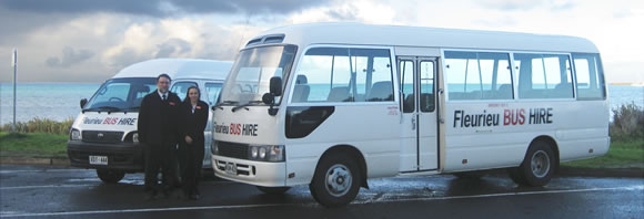 bus hire goolwa