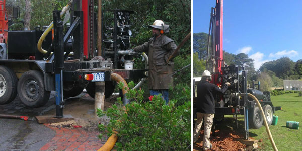 water dore drilling