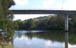 Wilson River West of Bridge