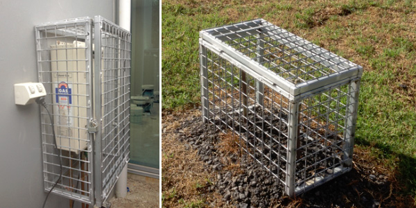 gas and water meter cage